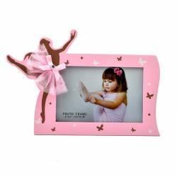 Rama foto balerina format 15x10 cm lemn