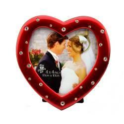 Rama foto Love Couple format 10x10 cm Rosu