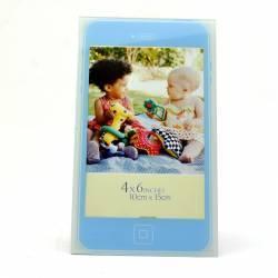 Rama foto telefon mobil format 10x15 cm sticla albastru