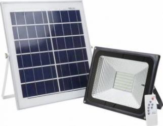 Reflector LED 50W PNI GreenHouse WS55 cu panou solar si acumulator