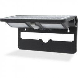 Reflector solar cu LED cu senzor de miscare si de lumina - NEGRU Corpuri de iluminat