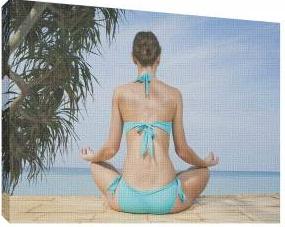 Relaxare 3 - Tablou canvas - 52x70 cm Tablouri