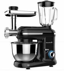 Robot de bucatarie multifunctional All-in-one Hausberg 1500w Mixer Blender Tocat Carne Negru Roboti de bucatarie