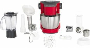 Robot de bucatarie Tefal Wizzo QB307538 700W 4L functie pulse mixer Rosu Roboti de bucatarie