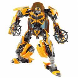 Robot care se transforma in masina pentru copii 37x14x41 cm Transformers Jucarii