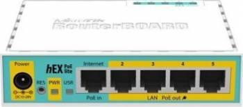 Router Mikrotik RB750UPr2 hEX PoE lite Routere