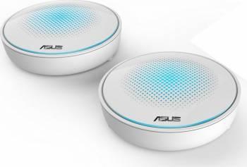 Router Wireless ASUS AC2200 Tri-Band Full Gigabit, 7 antene interne MU-MIMO Alb