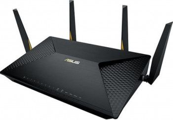 Router wireless ASUS BRT-AC828 black Dual-Wan VPN AC2600 Captive Portal Facebook Wi-Fi AiProtection