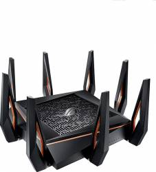 Router Wireless ASUS ROG Rapture GT-AX11000 10Gigabit Tri-Band 11480 Mbps 802.11ax, USB 3.1, 8 antene Wireless