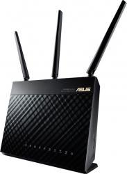 Router Wireless ASUS RT-AC68U Gigabit Dual-band AC1900, USB, TurboQAM negru