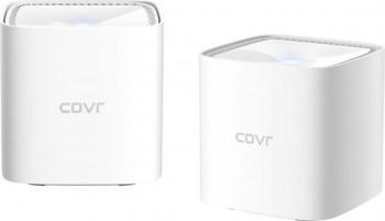 Router wireless D-Link Gigabit Mesh COVR-1102 Dual-Band 2 Pack MU-MIMO Parental control Alb