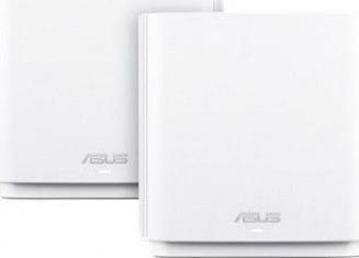Router Wireless Gigabit ASUS ZenWiFi AC CT8 AC3000 Sistem Mesh 2x Tri-Band White