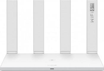 Router Wireless Gigabit HUAWEI AX3 WS7100-20 Wi-Fi 6 Dual Band 574 + 2402 Mbps Dual Core Alb