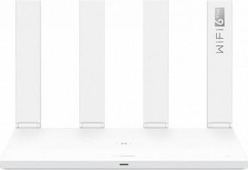 Router Wireless Gigabit HUAWEI AX3 WS7200-20 Wi-Fi 6 Dual Band 574 + 2402 Mbps Quad Core Alb
