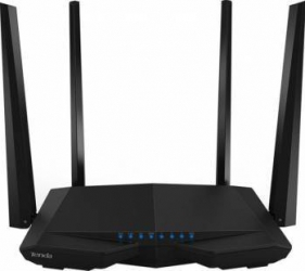 Router Wireless Tenda AC6 Smart Dual-Band AC1200, 4 antene Beamforming+