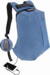 Rucsac laptop Tellur Antifurt V2 Cu port USB 15.6 inchi Albastru