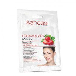 Sanase Strawberry Masca hidratanta cu particule exfoliante 10ml