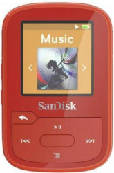 MP3 Player Sandisk Clip Sport Plus 16GB Red