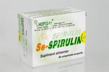 Se-Spirulina Hofigal 40tb