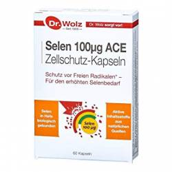 Selen 100 µg ACE 60cps Dr.Wolz