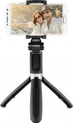 Selfie Stick Hama Funstand 57 Bluetooth Remote Trigger Negru Gimbal, Selfie Stick si lentile telefon
