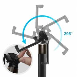 Selfie stick Wireless Spigen S530W Bluetooth Negru Gimbal, Selfie Stick si lentile telefon