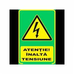 Semn Informativ Fosforescent Inalta Tensiune Corpuri de iluminat