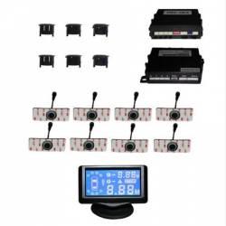 Senzor de parcare cu 8 senzori pentru bara Fata and Spate Model 43218 Pro oes Alarme auto si Senzori de parcare