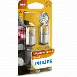 Set 2 Becuri auto auxiliare cu halogen Philips R10W 12V 10W Becuri si sigurante auto
