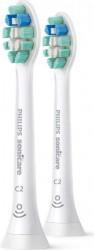 Set 2 Rezerve periuta de dinti Philips Sonicare HX9022/10 C2 Optimal Plaque Defence