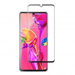 Set 2 x Folie Sticla Huawei P30 Pro Protectie Ecran Full Cover 3D Full Screen Adhesive adeziv pe toata suprafata Joyshell -Negru