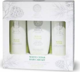 Set Cadou Natura Siberica White Cedar Sampon, Balsam, Masca par Seturi Cadou