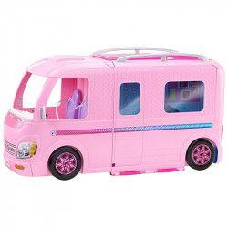 Set de joaca Mattel Barbie rulota complet utilata roz