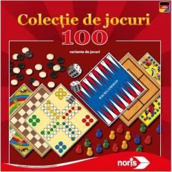 Set jocuri Noris Colectie cu 100 de jocuri Jocuri de Societate