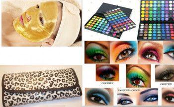 Set trusa farduri + 12 pensule + Masca de fata cu aur + Punga cadou Parfumuri Unisex