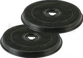 Set 2 filtre carbon pentru hota Beko CFB6433X Filtre Hote