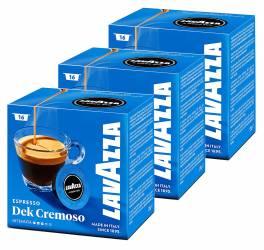 Set capsule Lavazza A Modo Mio Dek Cremoso 3 X 16 capsule 360 grame Capsule