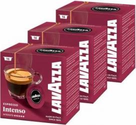Set capsule Lavazza A Modo Mio Intenso 3 X 16 capsule 360 grame Capsule