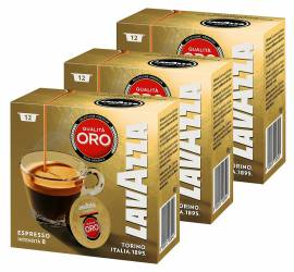 Set capsule Lavazza A Modo Mio Qualita Oro 3 x 12 capsule 270 grame Capsule