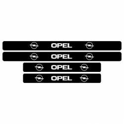 Set protectii praguri Opel sticker decorativ Huse si Accesorii