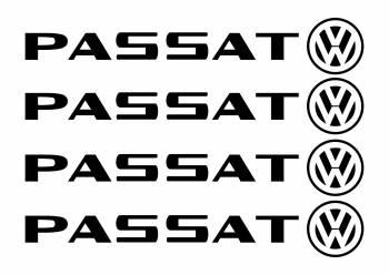 Set stickere manere Passat sticker decorativ culoare neagra Huse si Accesorii