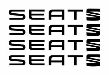 Set stickere manere Seat sticker decorativ culoare neagra Cadouri