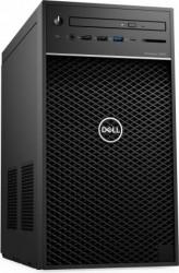 Desktop Dell Precision 3640 Tower Intel Core (10th Gen) i9-10900 2TB+512GB SSD 32GB Nvidia Quadro RTX 4000 8GB Win10 Pro Mouse+Tastatura