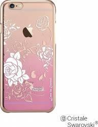 Husa Devia Crystal Charm iPhone 6 6S Pink