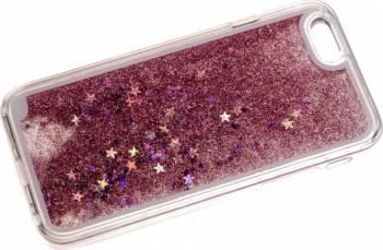 Skin Tellur Glitter iPhone 6 6S Roz Deschis