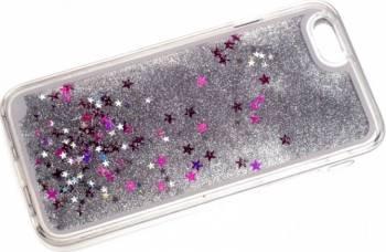 Skin Tellur Glitter iPhone 6 6S Alb