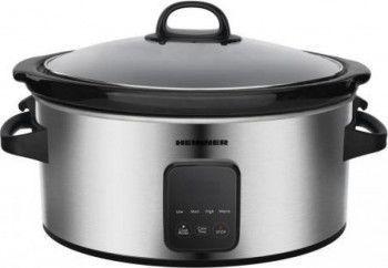 Slow cooker Heinner HSCK-C57IXBK 5.7 L 220 W Temporizator Inox Multicooker