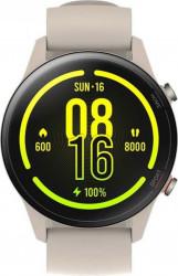 Smartwatch Xiaomi Mi Watch GPS TPU Strap Amoled Beige Resigilat