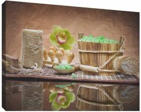 SPA 1 - Tablou canvas - 52x70 cm Tablouri