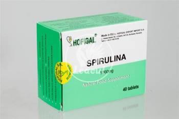 Spirulina 1000mg Hofigal 40tb
